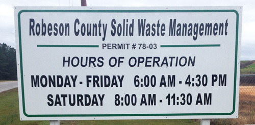 Landfill Hours 500